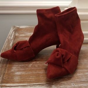 Zara Terracotta Goat Leather Boots